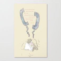 telephones Canvas Print