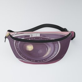 #04_Yashica electro 35#pink#film#effect Fanny Pack