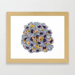 Being a Little Shellfish Framed Art Print