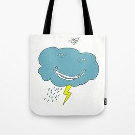 Ivan the angry cloud Tote Bag