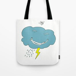 Ivan the angry cloud Tote Bag