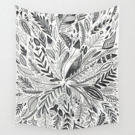 Botanic Pattern Wall Tapestry