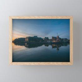 Fells Waterfront 01 Framed Mini Art Print
