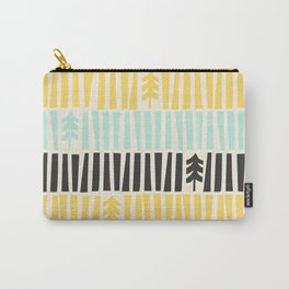 Mid-Century Modern illustrated Pattern Carry-All Pouch