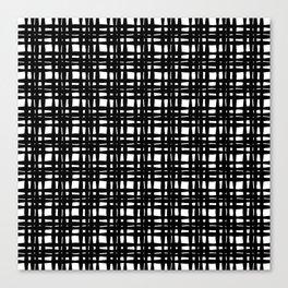 kariran (black/white) Canvas Print