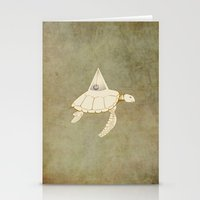 alchemy Stationery Cards featuring Alchemy by Michaela Stavova