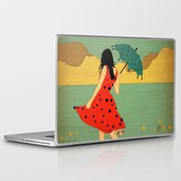lonely Laptop & iPad Skins featuring Lonely by Danelys Sidron