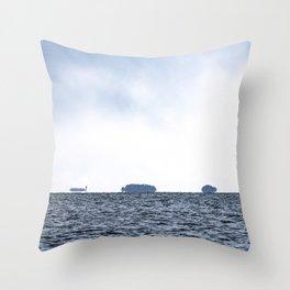 Salty Water Throw Pillow