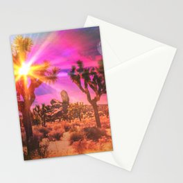 Jupiter Desert: Noon Stationery Cards