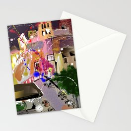 Fireworks in New York Stationery Cards