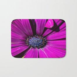 Purple Osteospermum Flower Bath Mat