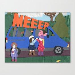 MEEEP Canvas Print
