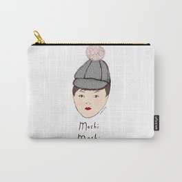 Moshi Moshi - White and Pink Carry-All Pouch