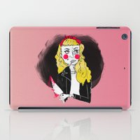 50s iPad Cases featuring 50s Rebel by Rebecca Span