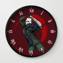 Kill them for mommy Wall Clock