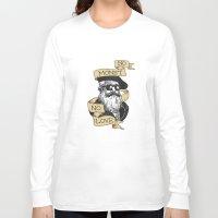 monet Long Sleeve T-shirts featuring No Monet No Love by Aria Gita