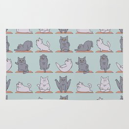 British Shorthair Cat  Yoga Rug