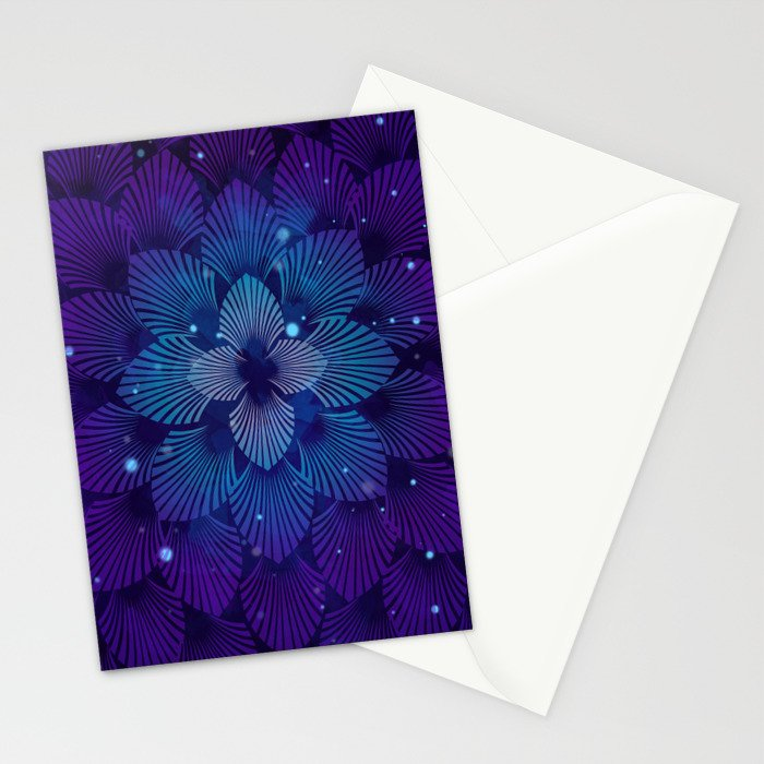 Variations on a Feather III - Raven Wing Deconstructed Stationery Cards