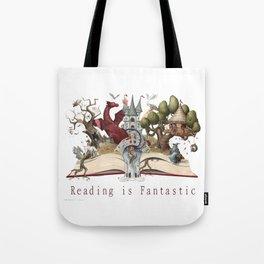 Reading is Fantastic Tote Bag
