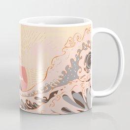 The pink great wave off kanagawa Coffee Mug