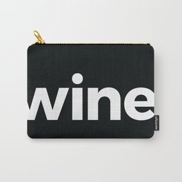 wine. Carry-All Pouch