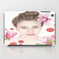 mulan iPad Cases featuring Mulan Magnolia by Amber-1107studio