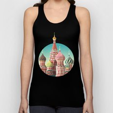 Saint Basil's Cathedral Unisex Tank Top