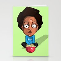 nerd Stationery Cards featuring NERD by Miles Cameron