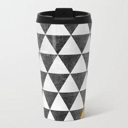 Triangle - Yellow III Travel Mug