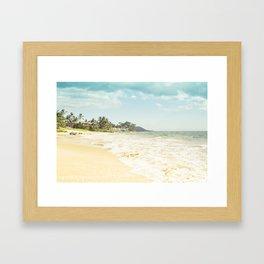 Polo Beach Maui Hawaii Framed Art Print