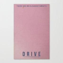 Minimalist Drive Canvas Print