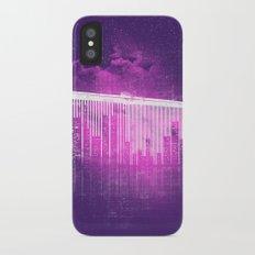 La Ville au Peigne Fin iPhone X Slim Case