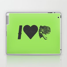I Love Dinosaurs Laptop & iPad Skin
