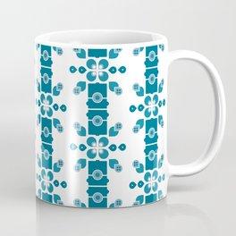 Bamboo forest – turquoise Coffee Mug