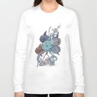 fish Long Sleeve T-shirts featuring fish by Tanya_tk