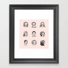 Sketches I Framed Art Print