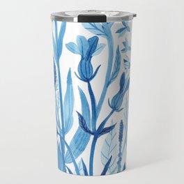 Blue Wildflowers Travel Mug