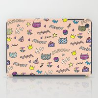 meow iPad Cases featuring meow by galactikat