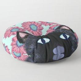 Lucy Fur Of Spring Floor Pillow