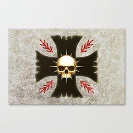 Black Voltigeurs Canvas Print