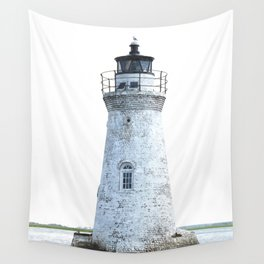 Lighthouse Illustration Wall Tapestry