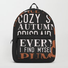 Pumpkin Spice Everything Backpack