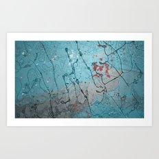 Abstract E Art Print