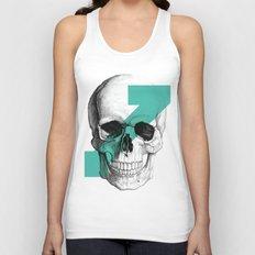 skull7 Unisex Tank Top