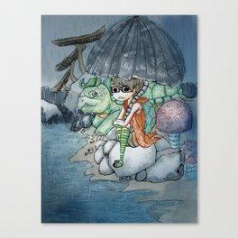Wet & Rainy Day Canvas Print