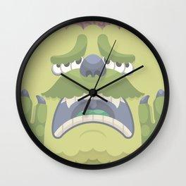 Wailing Wallinger Wall Clock