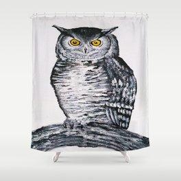 Night Howler  Shower Curtain