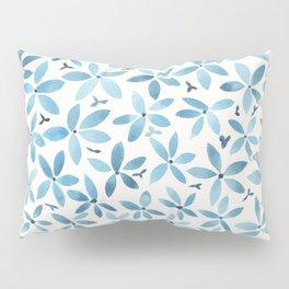 Blue Bouquet Pillow Sham