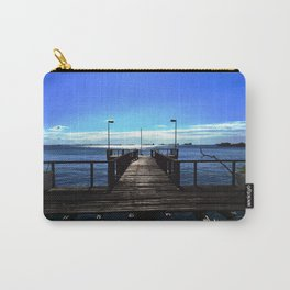 The wood pier Carry-All Pouch