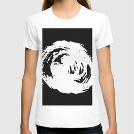 Whorl Black and White T-shirt